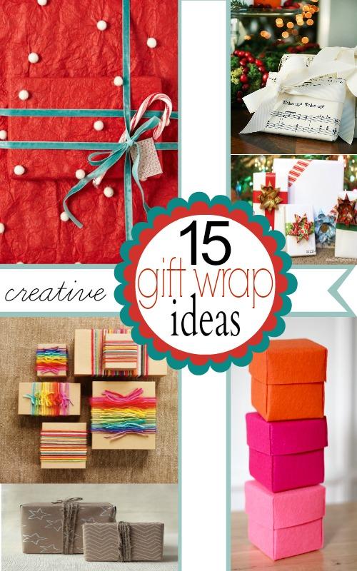 Creative Gift Wrap Ideas!