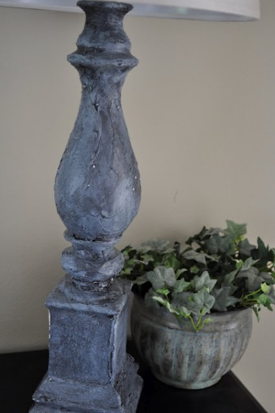 PB Inspired Architectural Salvage Lamp Tutorial
