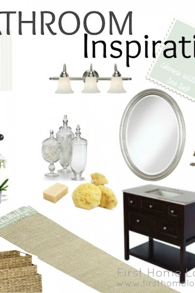I Can See Clearly Now…Bathroom Inspiration Board