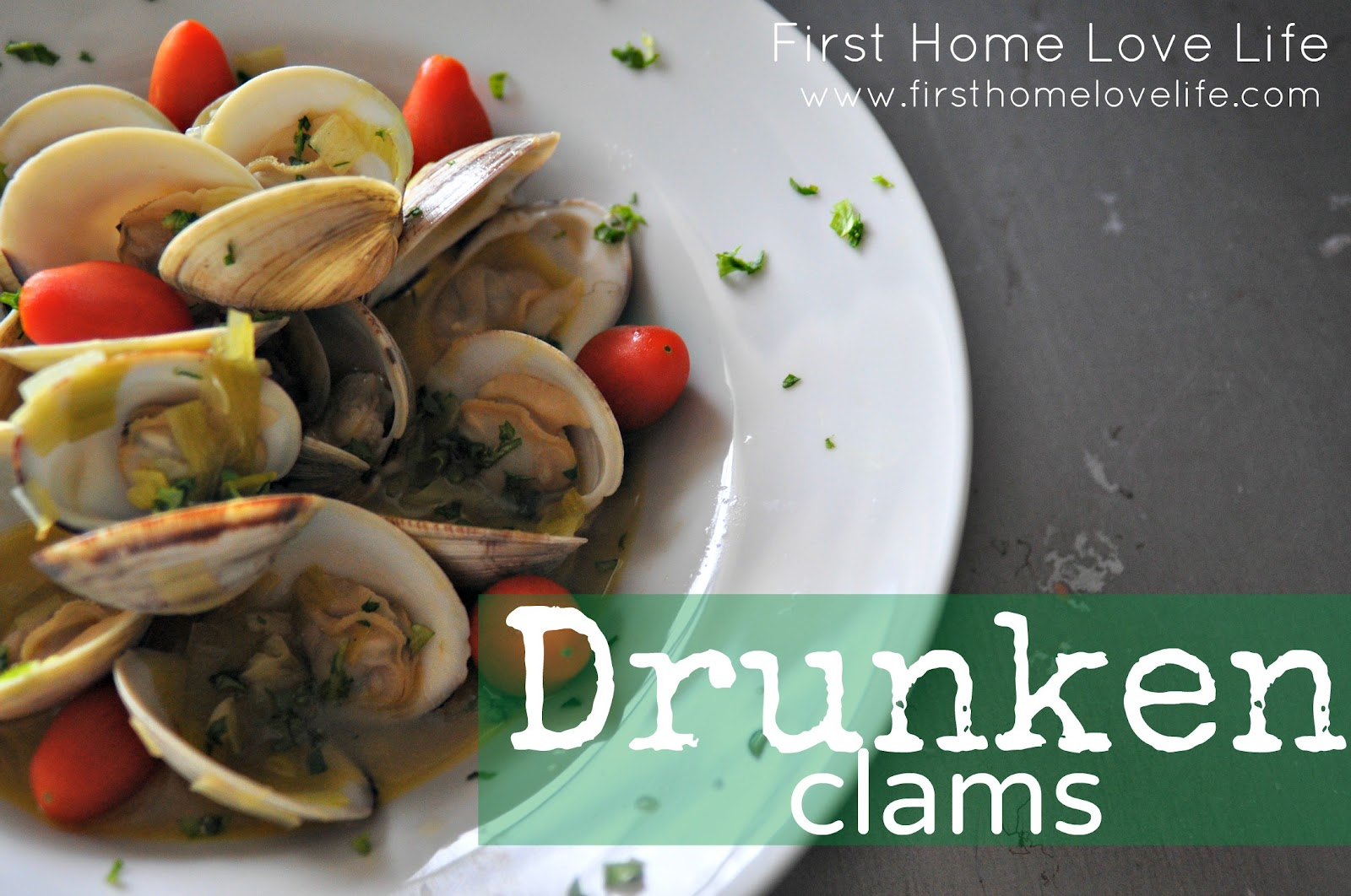 Drunken Clams - First Home Love Life