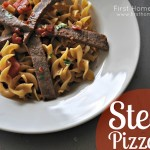 Budget Friendly Food- Steak Pizzaola
