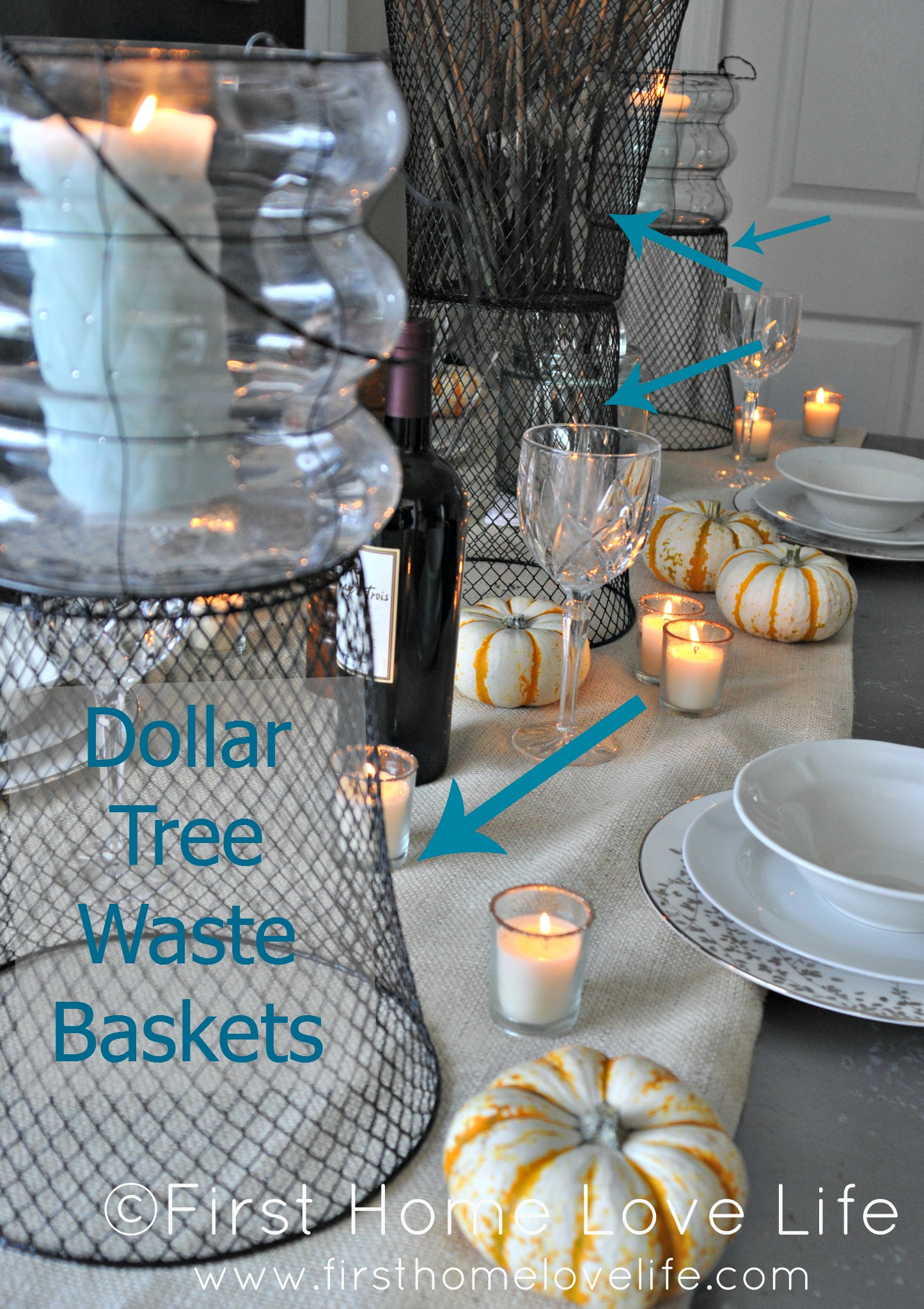Creating A Casual Fall Tablescape First Home Love Life