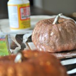 Fall Has Finally Arrived! Glittered Pumpkins Tutorial