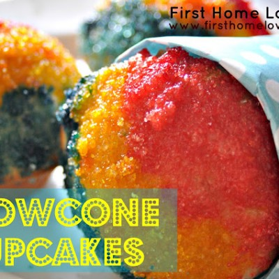 Perfect Summer Treat: Snowcone Cupcakes
