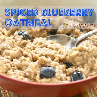 ... Blueberry Oatmeal from Artistic Expressions by Elizabeth is healthy