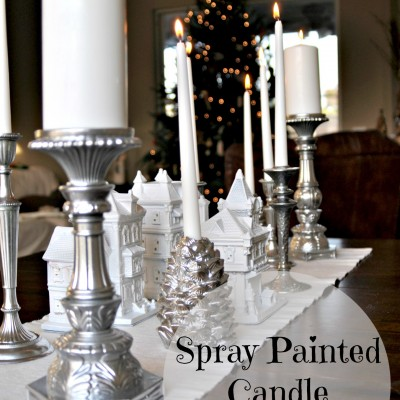 """Silver Bells"" Inspired Candlescape Table"