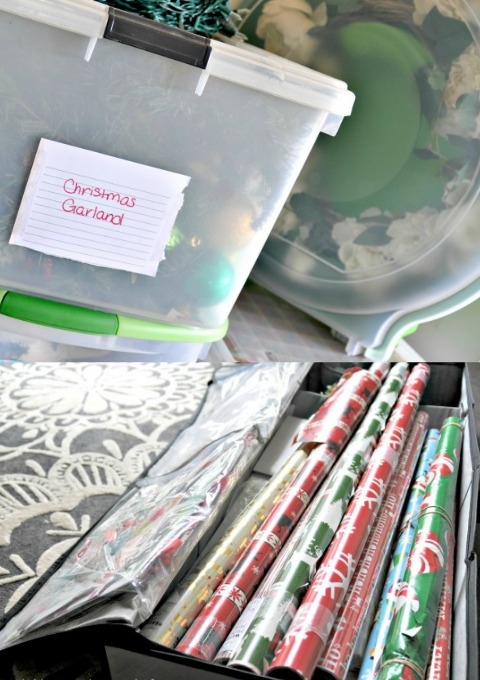 Delightful Holiday Decoration Storage Ideas Part - 4: Christmas Decoration Storage Ideas Via Firsthomelovelife.com