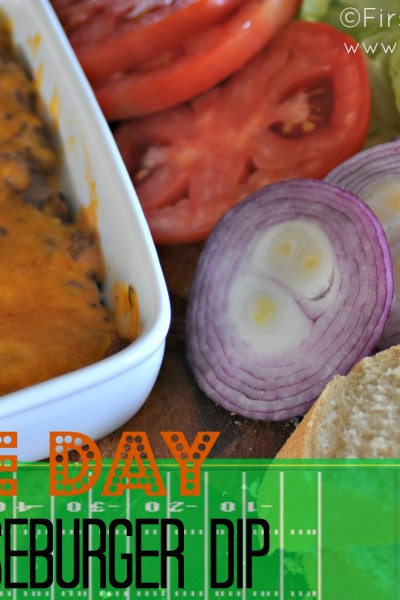"Game Day- ""Big Mac"" Cheeseburger Dip"
