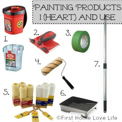 Painting 101: Products and Prep Work