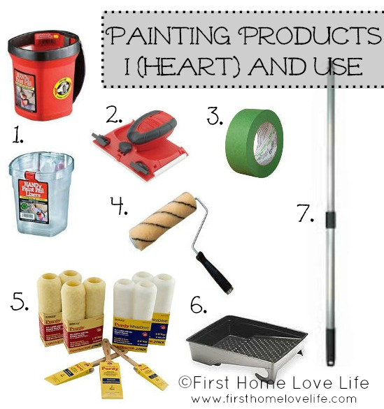 Painting 101 products and prep work first home love life - How we paint your room ...