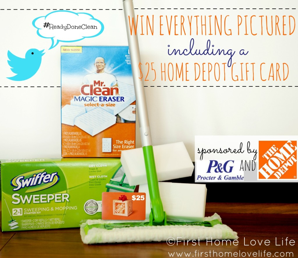 Home Depot P&G Prize Pack