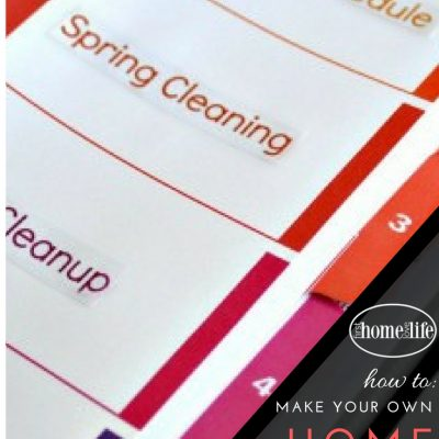 Learning to be Organized | Home Maintenance Binder
