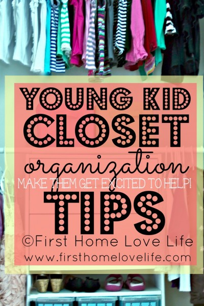 Kids Closet Organization and Bedroom Progress
