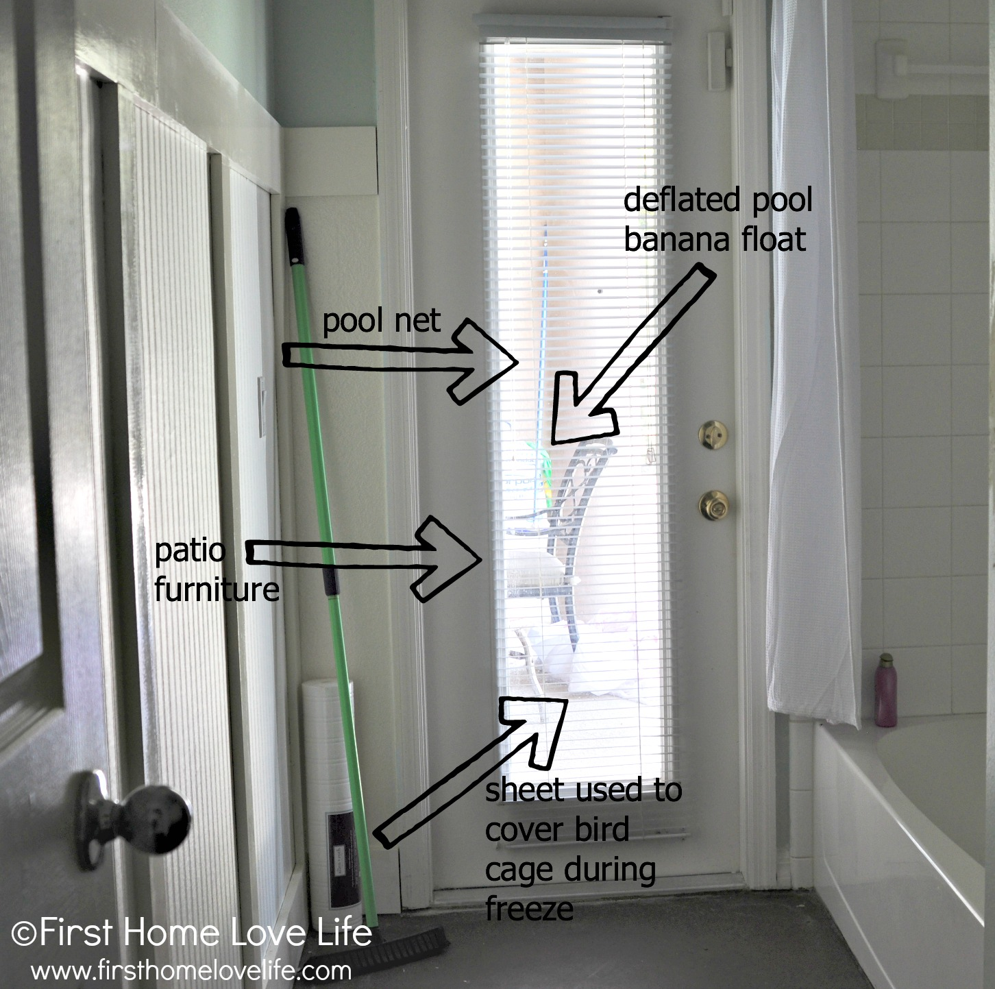 seeverything & How to Spray Frost a Glass Door for Privacy - First Home Love Life Pezcame.Com