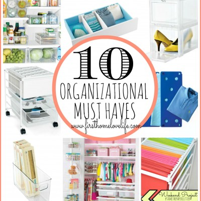 Top 10 Container Store Must Haves