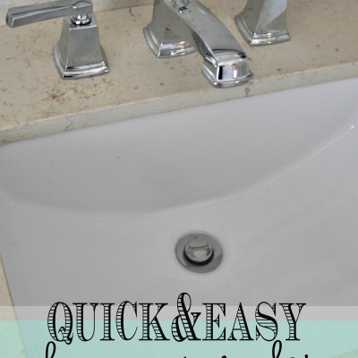 Replacing a Bathroom Faucet