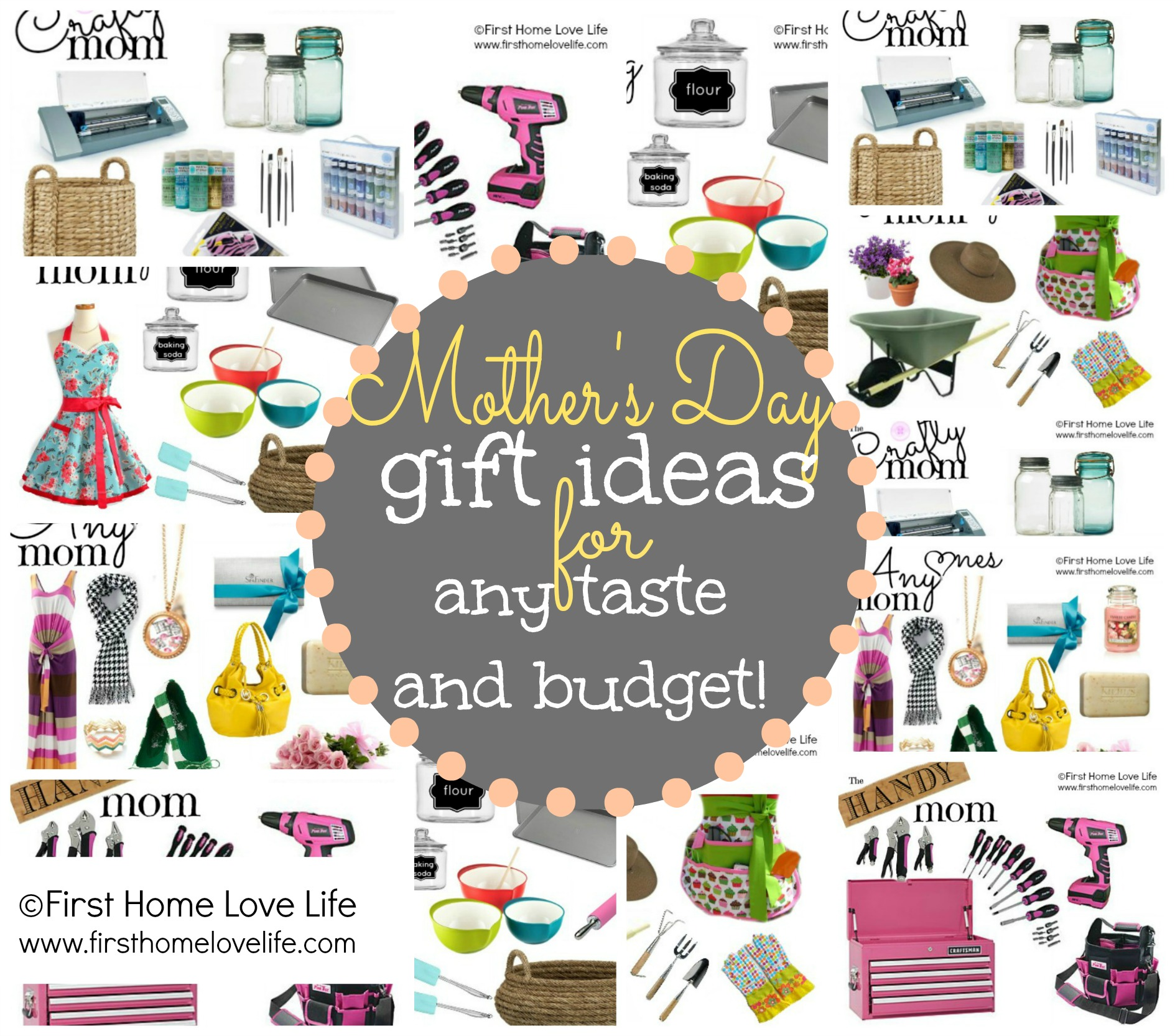 mother's day gift ideas - first home love life