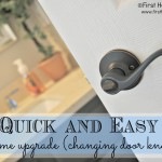 Easy Home Upgrades *Door Knobs*
