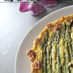 Ham, Asparagus, and Gruyere Quiche