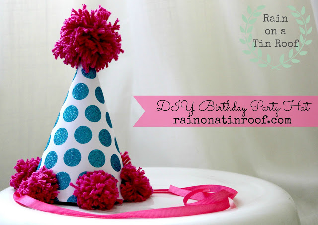 DIY Birthday Party Hat 1
