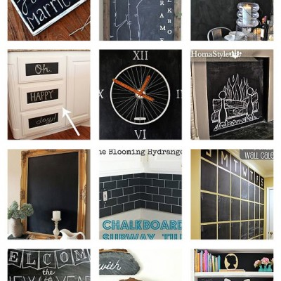 20 Amazing Chalkboard Paint Ideas