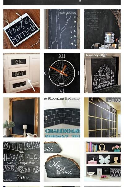 20 Amazing Chalkboard Paint Ideas