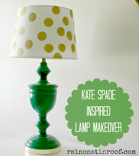 kate spade inspired lamp makeover 5