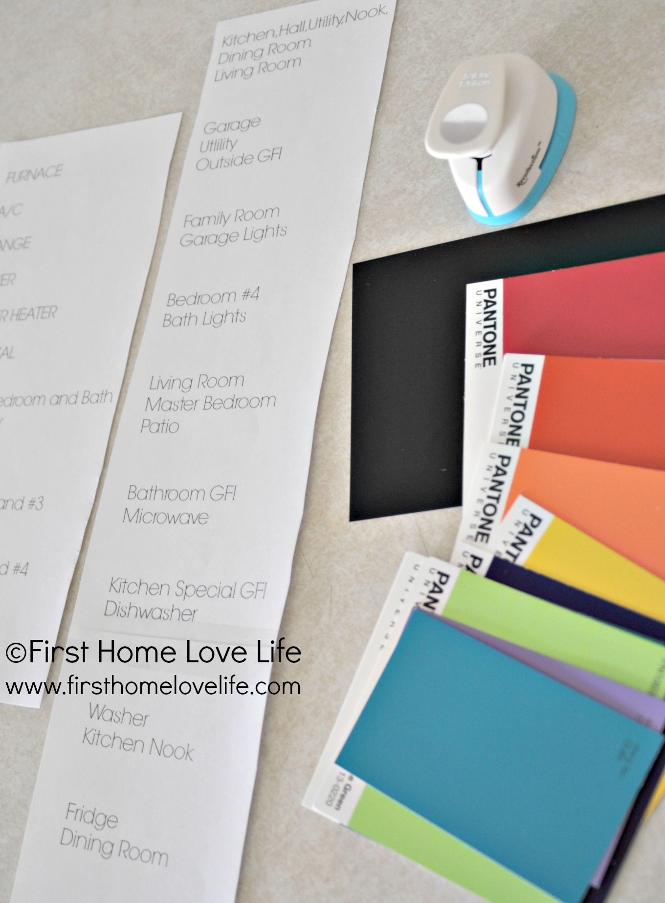 Color Coding Your Circuit Breaker Box First Home Love Life Fuse Colors Boxsupplies
