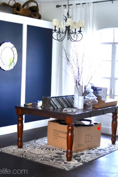 Dining Room Makeover: Making Progress