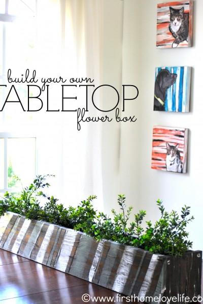 Build It: Tabletop Flower Box