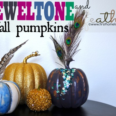 Jewel-Tone Fall Pumpkins