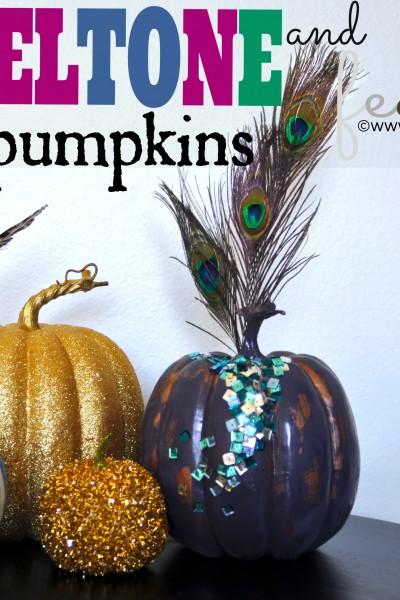Jewel-Tone Fall Pumpkins
