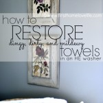 Restoring Old Towels to New Again