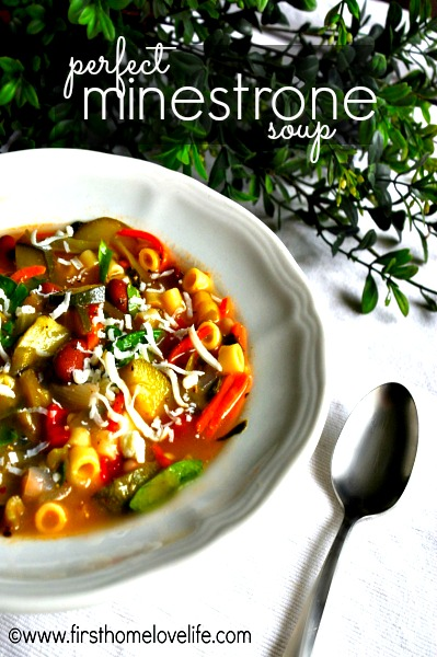 PERFECT MINESTRONE SOUP RECIPE