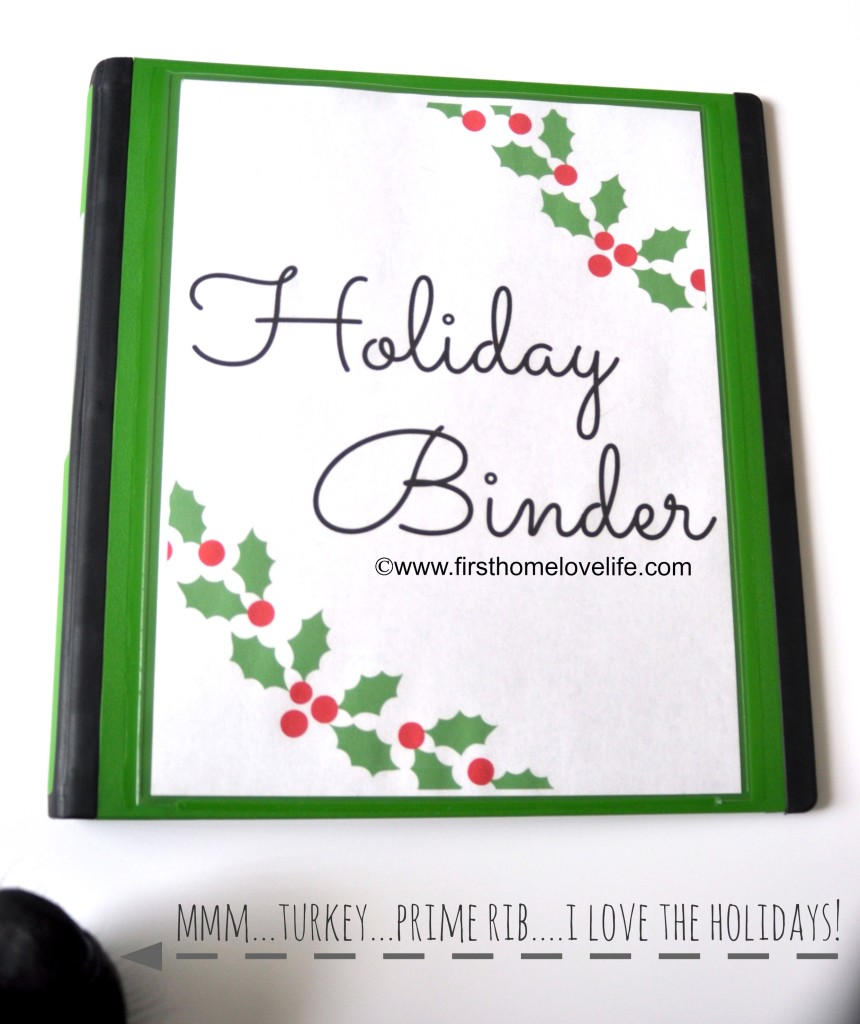 free christmas printable binder covers