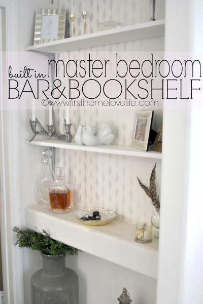Builder Built In Becomes a Bookshelf