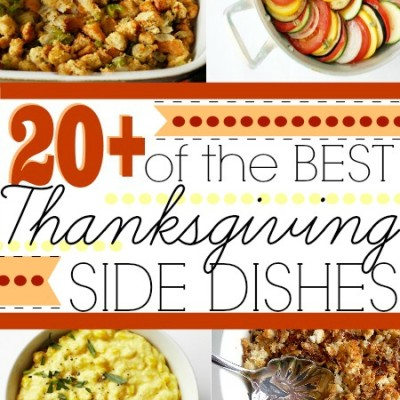 20+ Best Thanksgiving Side Dishes
