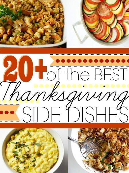 20 best thanksgiving side dishes first home love life