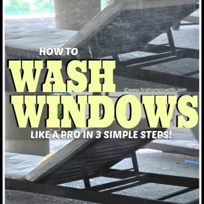 Wash Windows Like A Pro