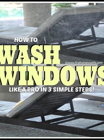 Wash Windows Like A Pro