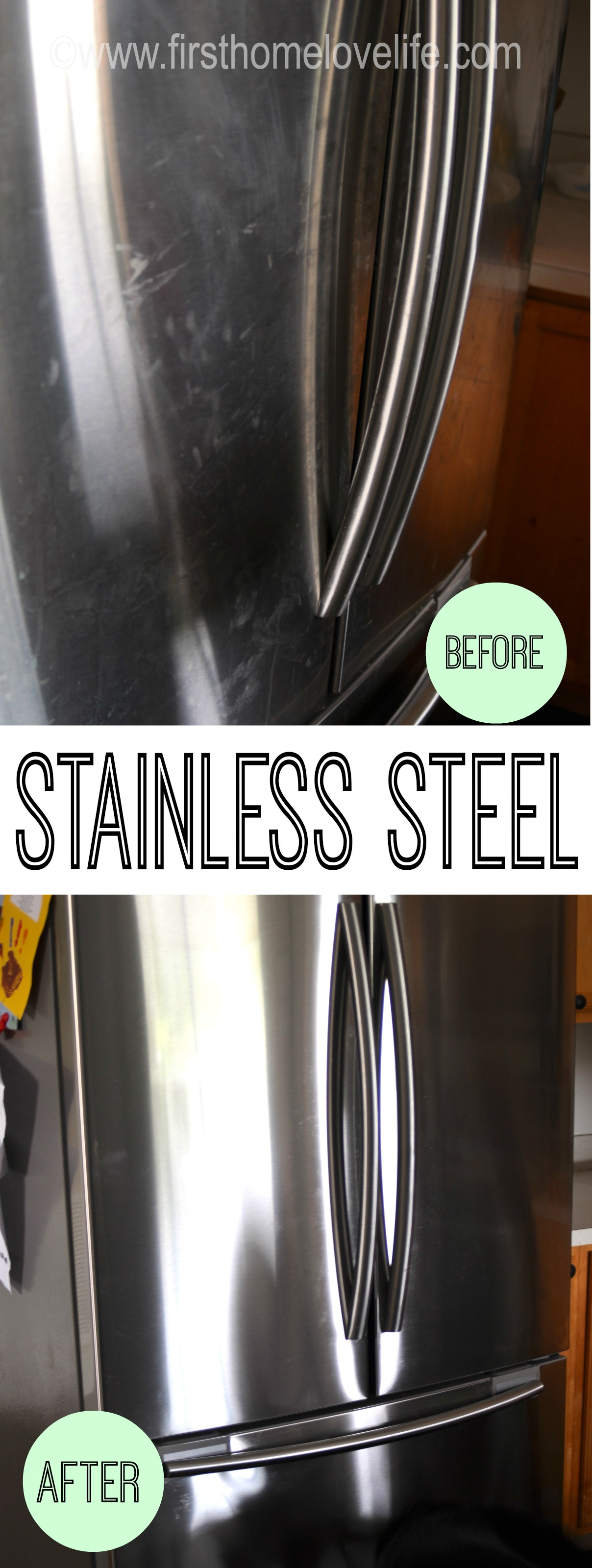 how to clean stainless sterlbapplisnces