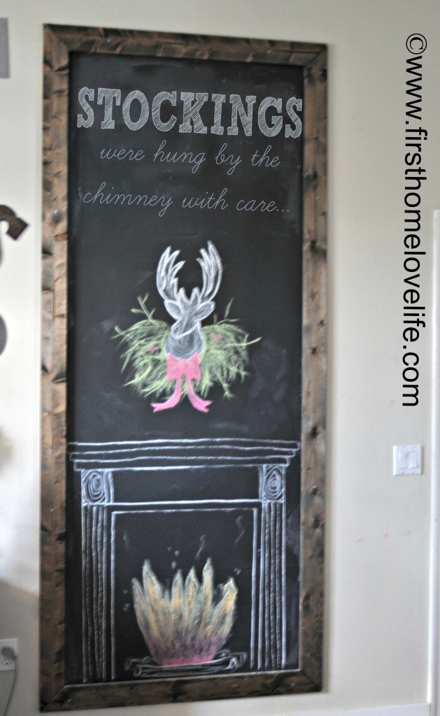 FAUXFIREPLACECHALK