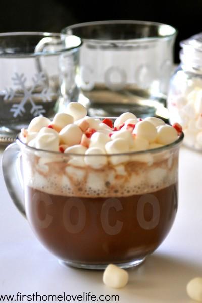 Holiday Hot Cocoa Mugs