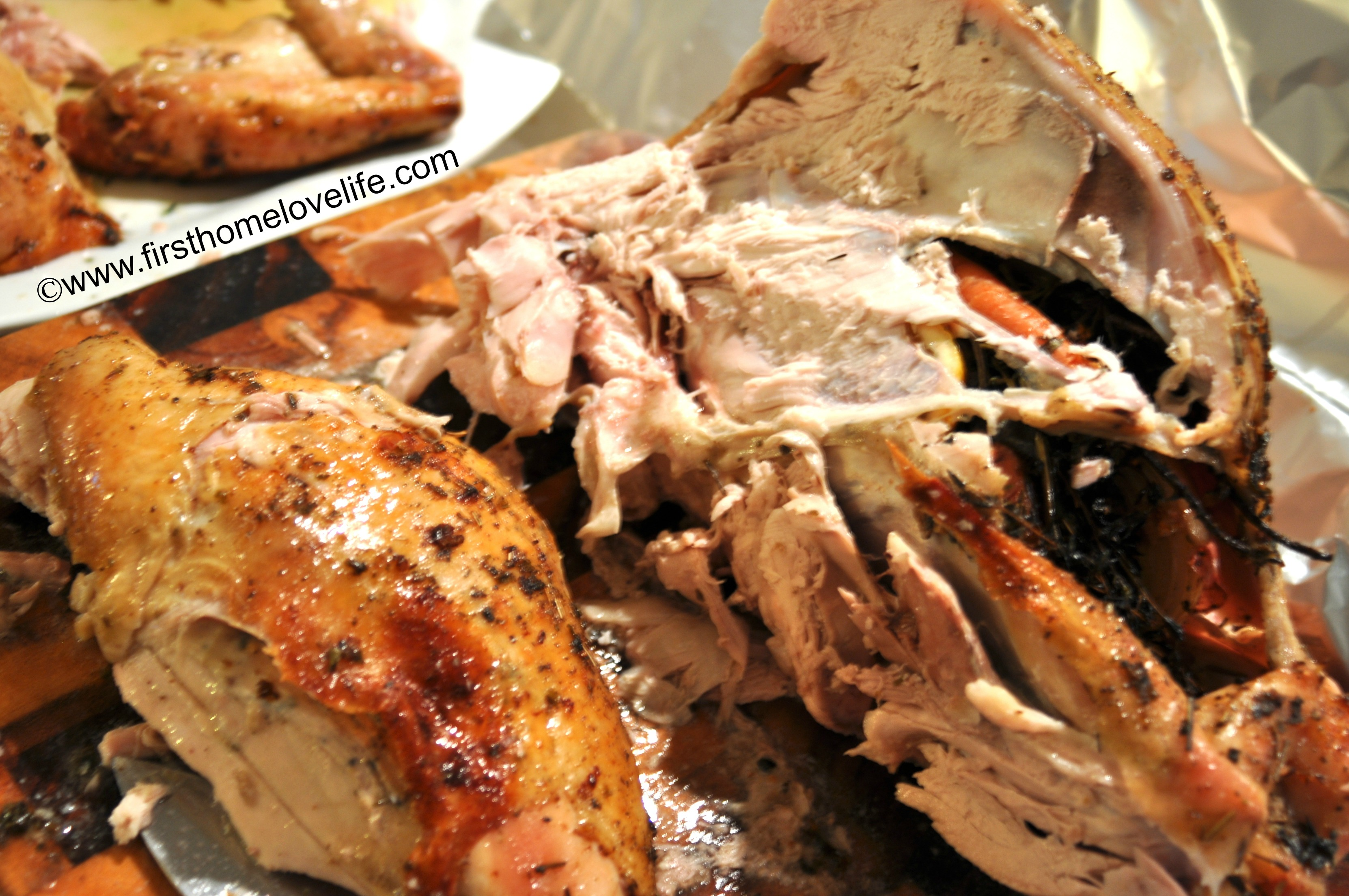 How to Carve a Turkey - First Home Love Life