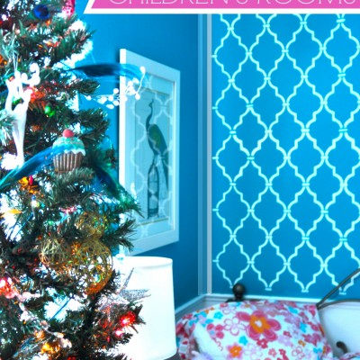 Decorating Children's Rooms for Christmas