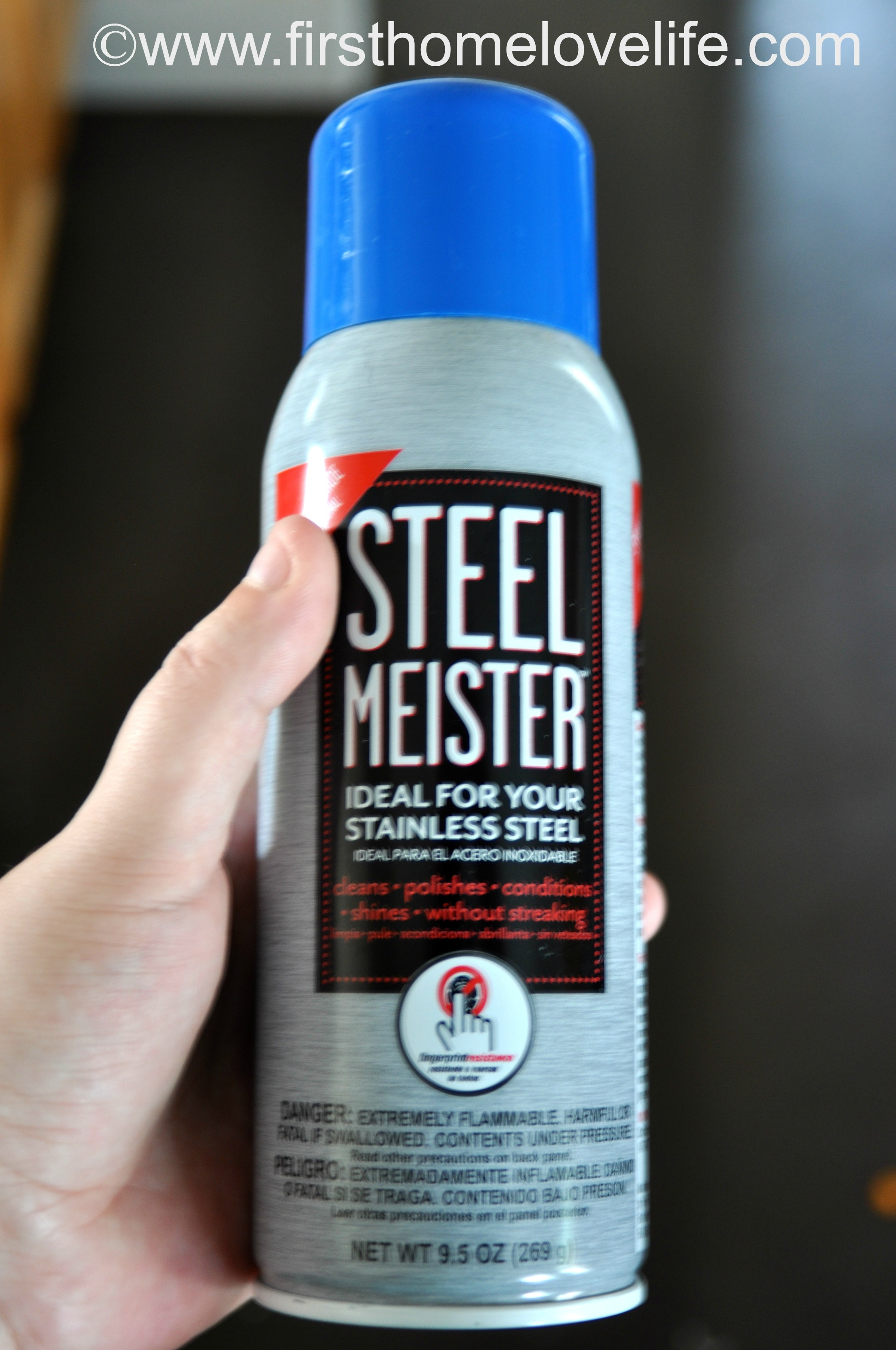 Stainless Steel Cleaner For Kitchen Appliances