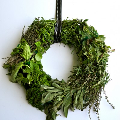Fresh Herb Wreath