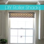 DIY Fabric Roller Shade