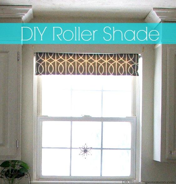 DIY Roller Shade