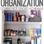 Real Life Pantry Organization